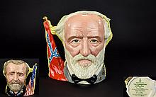 Royal Doulton Character Jug 'The Antagonist Collection'  The Civil War ULysses S Grant/Robert Lee number 8547 of 9500.