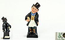 Royal Doulton ''Trotty Veck'' Figurine. Approx 4.5 inches tall.