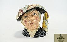 Royal Doulton Pearly Queen Character Jug Modelled by Stanley James Taylor, 1986. Height 7 inches.