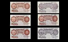 An Excellent Collection of Bank of England Ten Shillings Banknotes - All In