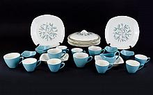 Cassandra Pattern Assorted Pieces: Circa 1957 in the fashion shape. 36 pieces in total.