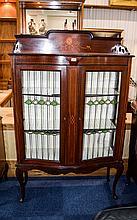 Art Nouveau Edwardian Mahogany Display Unit, Shape