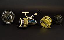 Four Fishing Reels