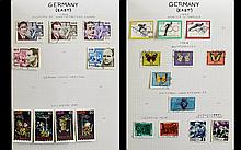 Well Presented Stanley Gibbons Senator Album Full of East German DDR Stamps From 1962 - 1990. Includes Fauna Protection ( part ) 15 th Cycle Race, 1962 World Youth Festival Games ( 2 ) Blocks and Full Set of 1964 Olympic Games. High Catalogue Value.
