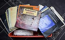 Small Amount of Sheet Music and a small amount of classical records and modern postcards.