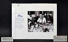 Beatles Interest Signed Limited Edition Photographic Print By Phillip Towns