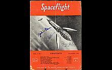 Apollo Space Autographs on Space Magazine - Buzz Aldrin, Michael Collins & John Glen.