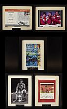 Liverpool Football Club Interest A Collection Of 5 Autographed And Framed Items. To include Former Liverpool Manager Roy Evans, Bruce Grobbellar, Ray Clemence And printed display of the 1981 team. All in immaculate condition. Please see accompanying