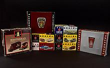 A Collection Of Vanguard Sets. 8 In Total. Including Post Office Telephones Service Vans Of The 50's and 60's, Heartbeat Collection, The Broadspeed Racing Anglias Of The 1960's, British Rail Service Vans Of The 50's And 60's, Past Times Jaguar Set,
