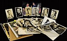 Film Star Photographs Collection ( Approx 128 )  10 x 8 and Smaller, Mainly