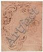Mauro Antonio Tesi, il Maurino (1730-1766). Attributed to. Study for ornamental motif, Mauro Antonio Tesi, Click for value