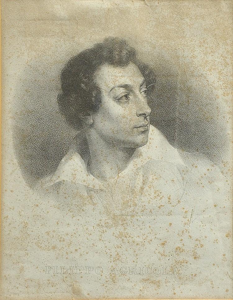 HORACE VERNET (1789-1863). DA, Filippo Agricola,
