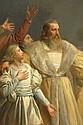 THOMAS COUTURE (1815-1879). CERCHIA DI, Giovanna