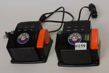 Two 80-Watt Lionel  transformer/ controllers