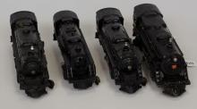 Lot of Four trains: One Lionel No. 2025, 2036,2037