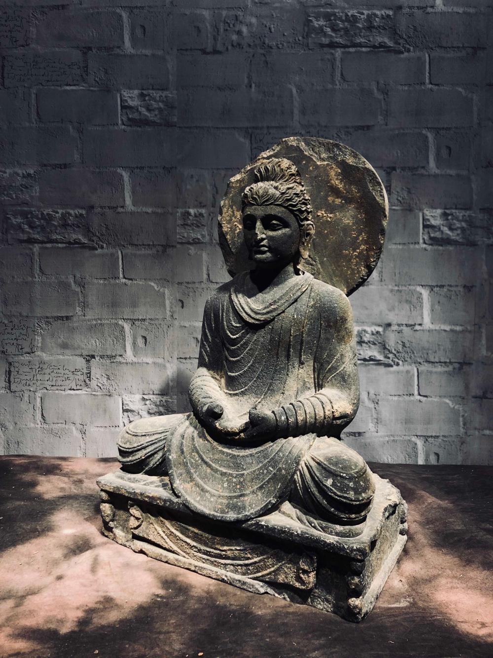 Gandhara Stone Buddha Statue