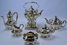 Tiffany & Co. Sterling Columbian Exposition Tea Set