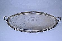 French Sterling Silver Waiter Tray c.1870