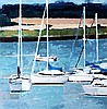 Paul Donaghy - Boats In The Estuary, Paul Donaghy, Click for value