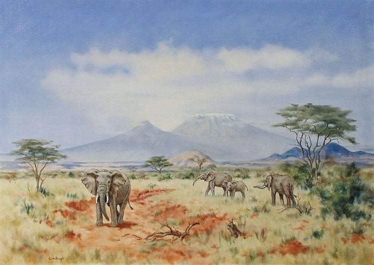 Lydia DeBurgh ARUA - Kenya Landscape