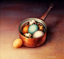 David French Le-Roy Still Life with Copper and