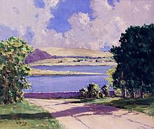 William Jackson Shadows on the Lake Oil on Canvas