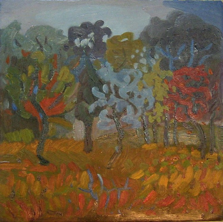 Patrick McDonnell  Enchanted Grove  Oil on Canvas