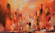 Carol Ann Waldron  A Rare Moment  Oil on Canvas