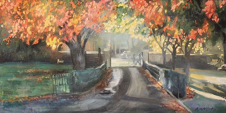 Anne Marie McCaughey - Autumn Leaves Cherryvale