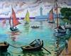 Serg Ixygon - Pink Sail At Harbour, Serg Ixygon, Click for value