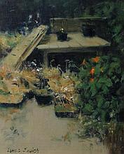 James English RHA - The Gardeners Table