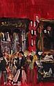 Marie Carroll. The Shelbourne Bar. Oil