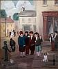 John Schwatschke. Conkers. Oil on Canvas