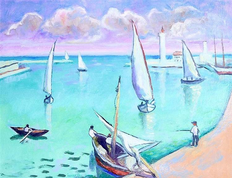 Serg Ixygon - White Sail Boats