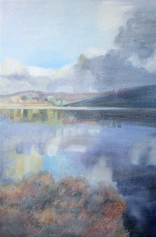 Anne Marie McCaughey - Winter Lake