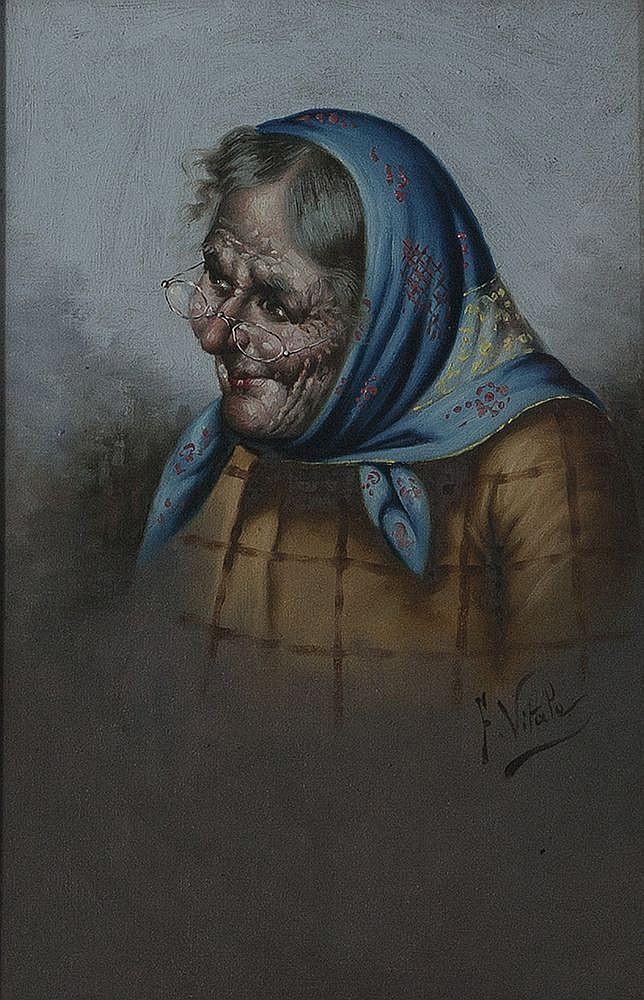 Ferruccio Vitale Old Continental Lady