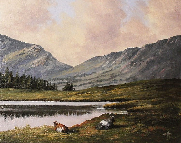Liam Reilly - Cattle By A Lake