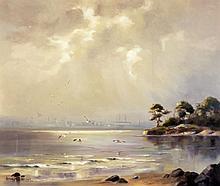 Hamilton Sloan - A Silver Sheen on Belfast Lough