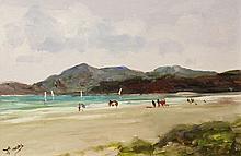 Terrence Crosby - Beach Scene