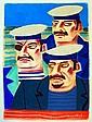 Three Sailors' by Graham Knuttel
