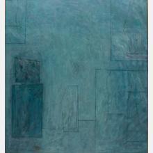 Al Newbill (1921-2012) The Artist in His Studio, Oil on canvas,