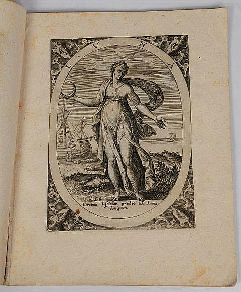 DE JODE, Gerard (1509-1591). A series of 15 engraved plates. [ca 1580s].