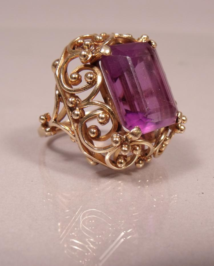 amethyst rings - photo #34