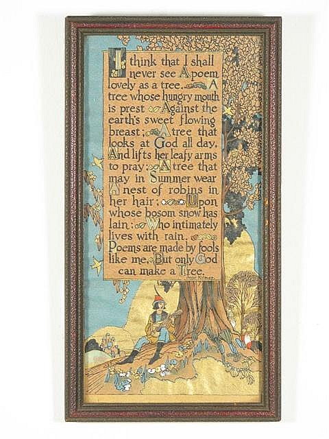 Lee Mero (b. 1885-) An Illustrated Poem