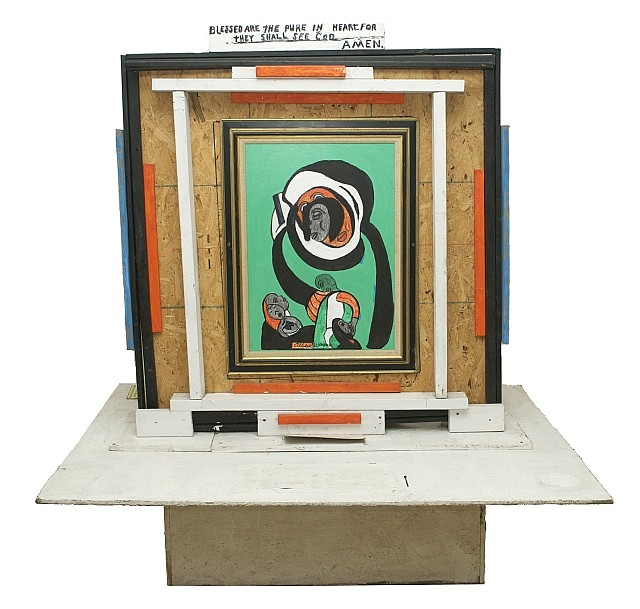 Reverend Albert Wagner (1924 - 2006) Dwelling in the Secret Place of the Most High, Assembled sculpture,