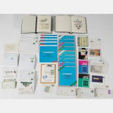 A Large Collection of Philatelic Bureau Stamps from Ireland,