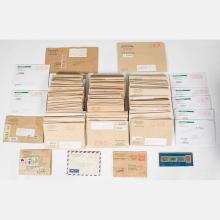 A Collection of Bureau of Taipei, Philatelic Covers, 1980-1990.