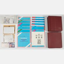 A Collection of Stamp Albums from China, Korea and Thailand-Siam, 1973-1974.