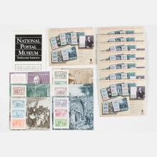 A Group of Seven Complete Souvenir Sheets from the Columbian Exposition, 1992,