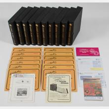 A Group of Eight White Ace Stamp Albums from the Channel Islands, 1969-1995,